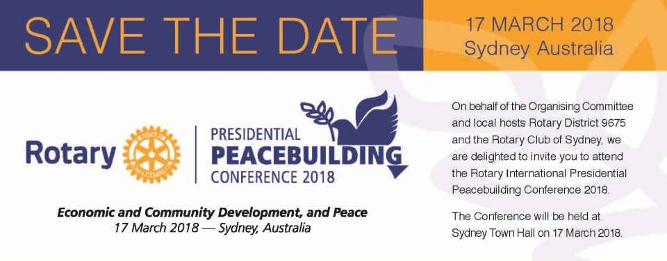 Presidential Peacebuilding Conference