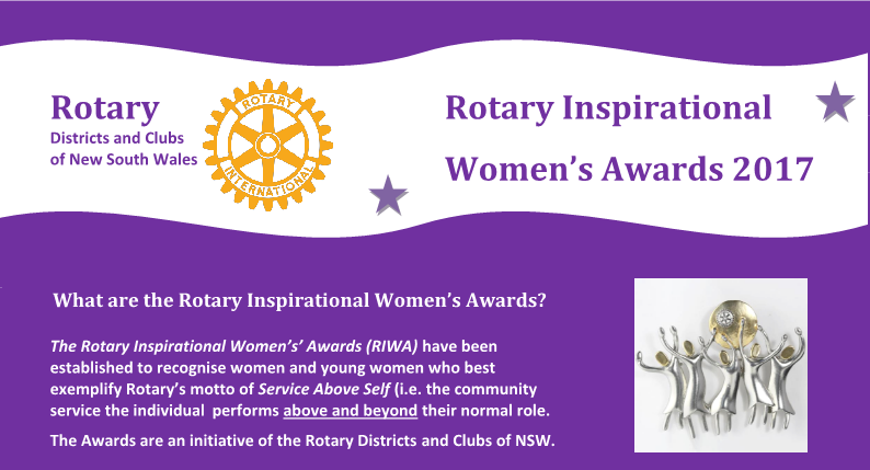Rotary Inspirational Women's Award