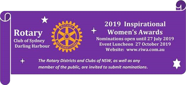 Rotary Inspirational Women's Awards