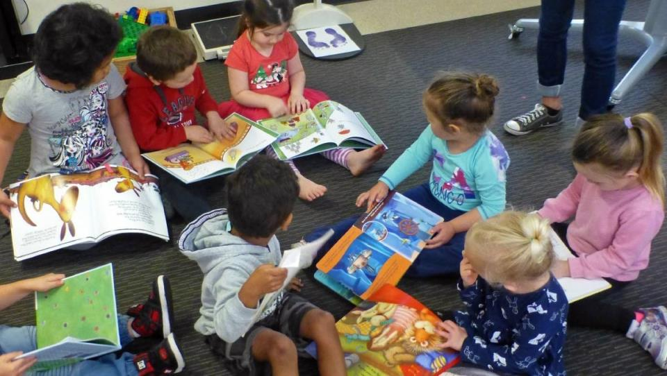 Literacy program: Children aged between three and five are getting a head start on literacy thanks to a Rotary-backed initiative at Noogaleek Children's Centre, Berkeley.
