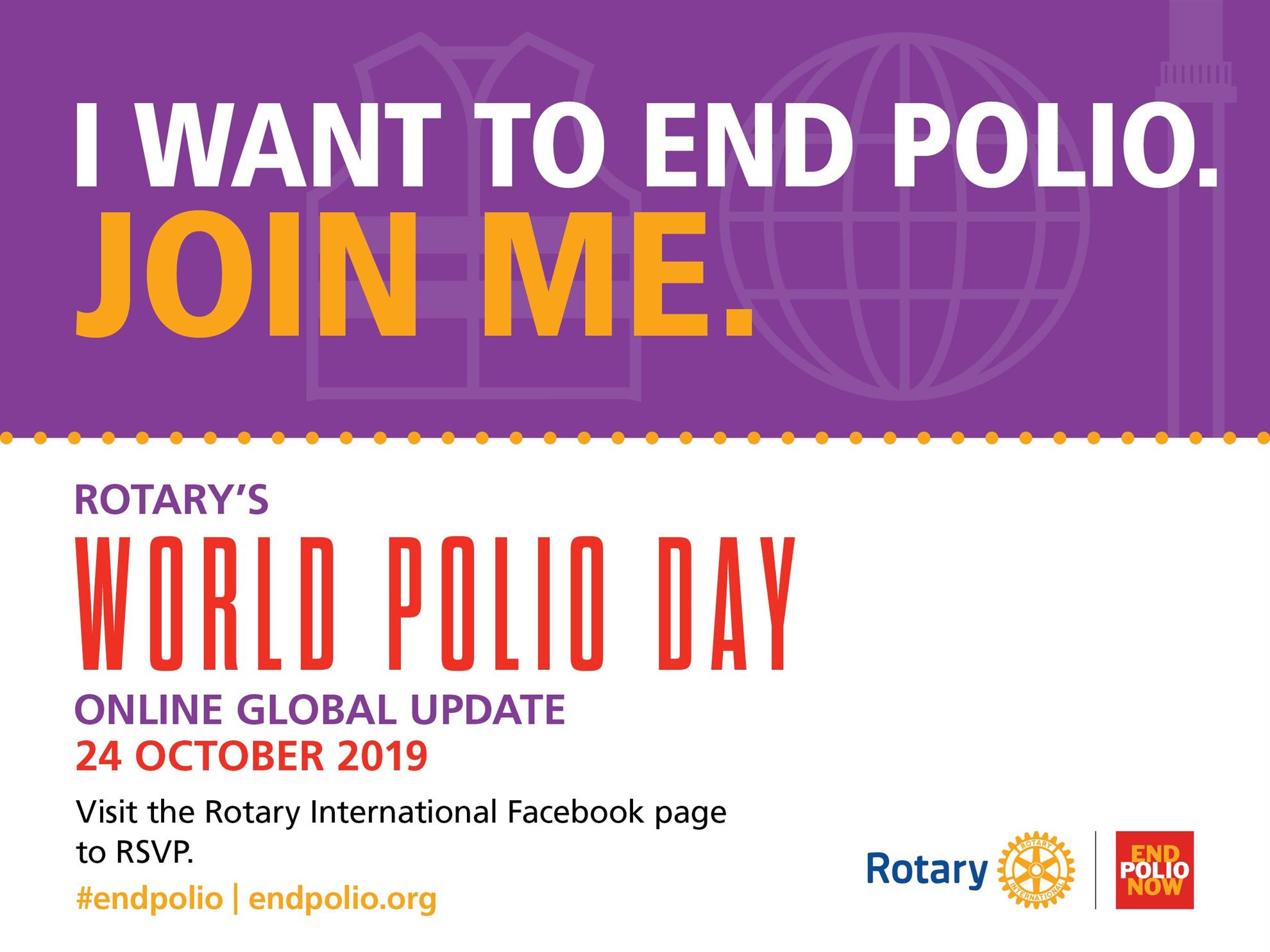 Image result for world polio day 2019