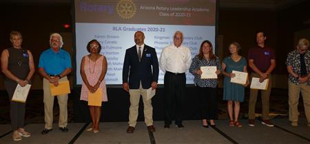 RLA graduates