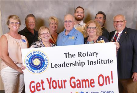 Rotary Leadership Institute grads