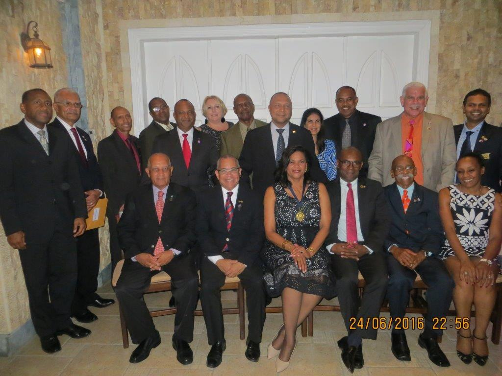 2016 RC Central Port of Spain Handover