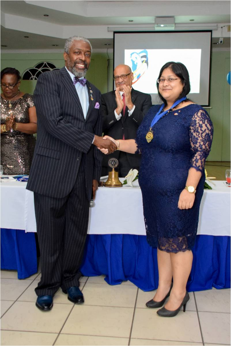 2016 RC Point Fortin Handover