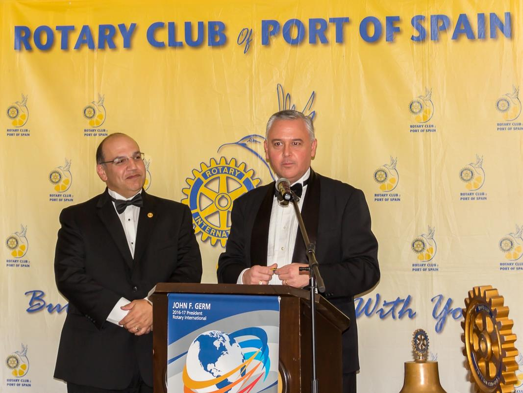 2016 RC Port of Spain Handover