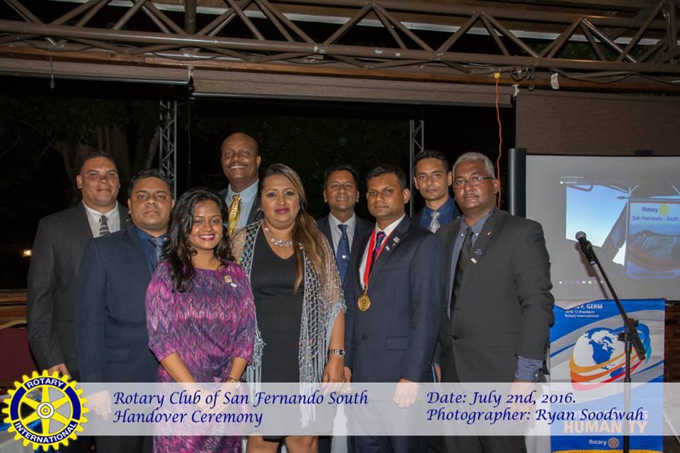 2016 RC San Fernando South Handover