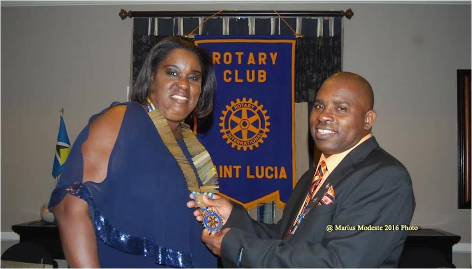 2016 RC St. Lucia Handover