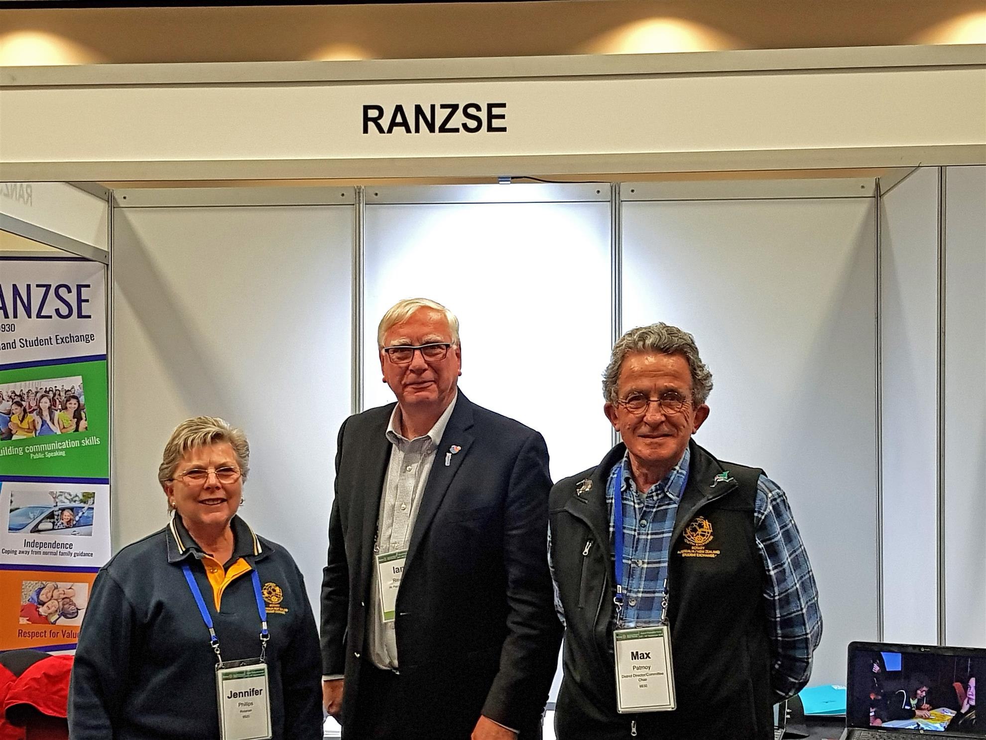 5066abf683 Whilst working in the Rotary Australia New Zealand Student Exchange booth  in Hobart