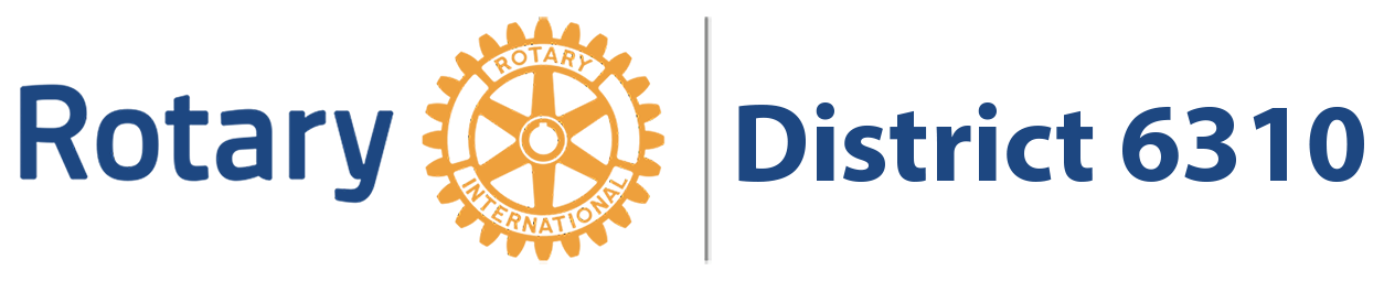 Rotary District 6310 logo