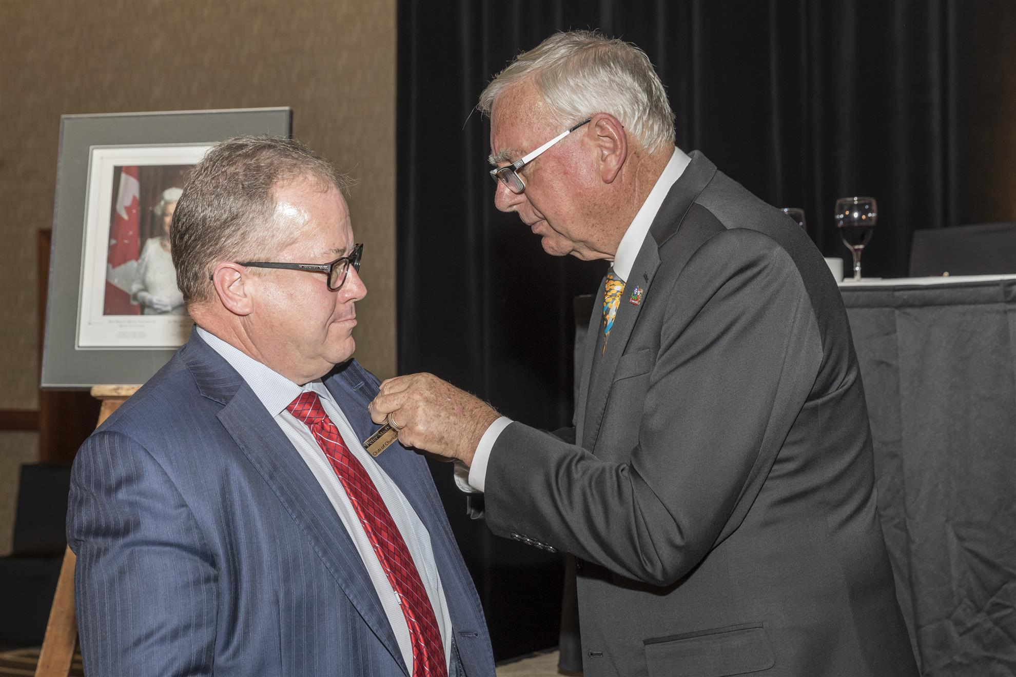 A highlight of the wonderful gala night at the Delta Charlottetown on  Sunday October 1st , 2017 was the awarding of Paul Harris Fellowships  (PHF's) to ...