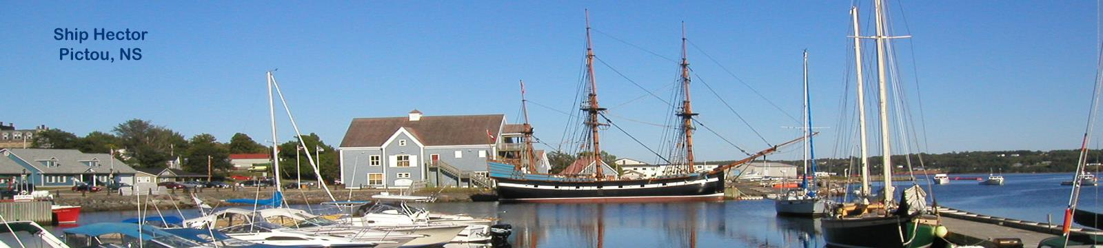 Ship Hector, Pictou