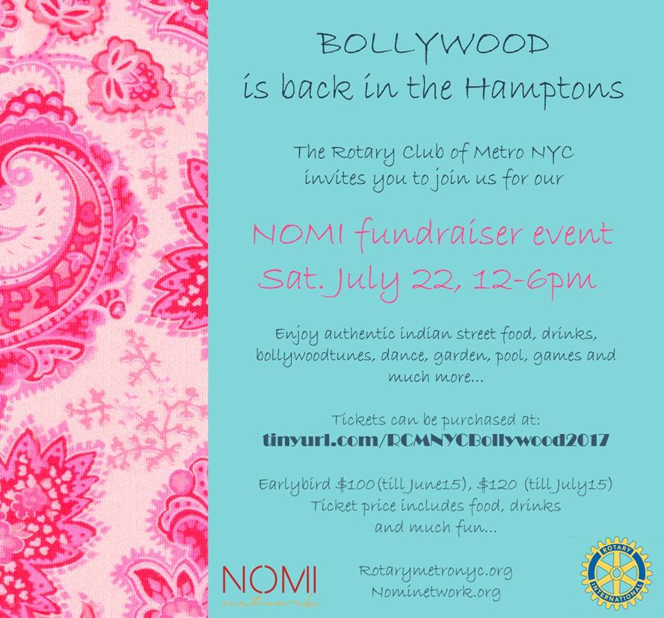 Bollywood in the Hamptons II | District 7230