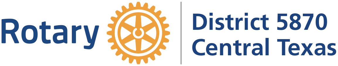 Rotary District 5870 logo