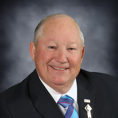 District Governor Winton Schoneman