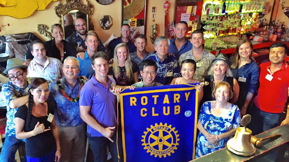 Club VIsit at Rotary Pau Hana