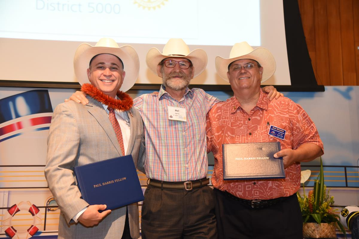 Recognition of New White Hat Members