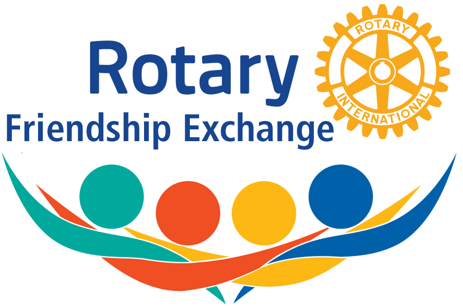 Image result for rotary friendship exchange logo