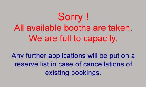 Sorry ! We are full to capacity.