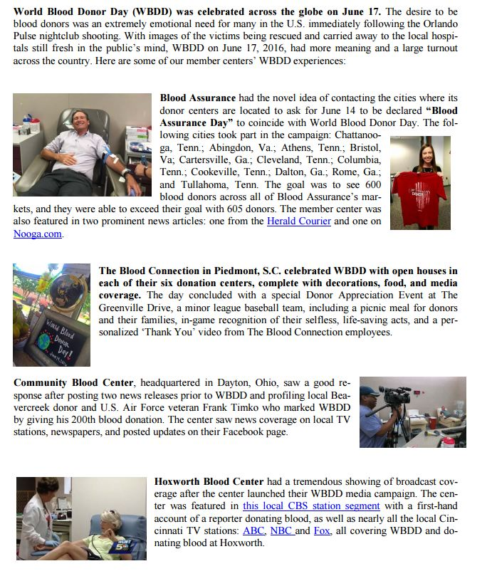 Stories global network for blood donation a rotarian action group more stories from world blood donor day yadclub Gallery