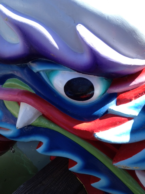 2013 Dragon Boat Eye Dotting The Royal Rosarians