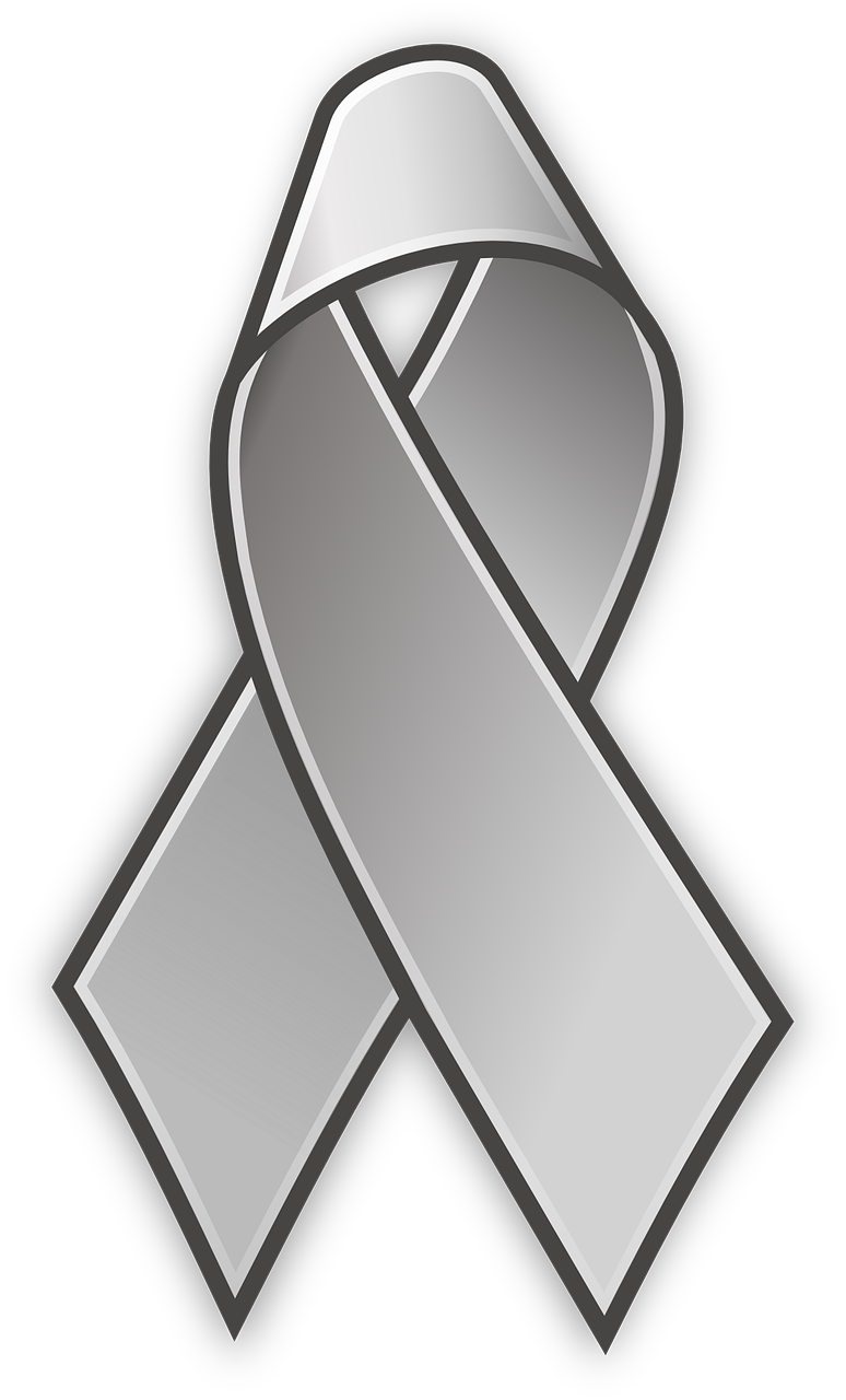 Silver Ribbon for Parkinson's Awareness