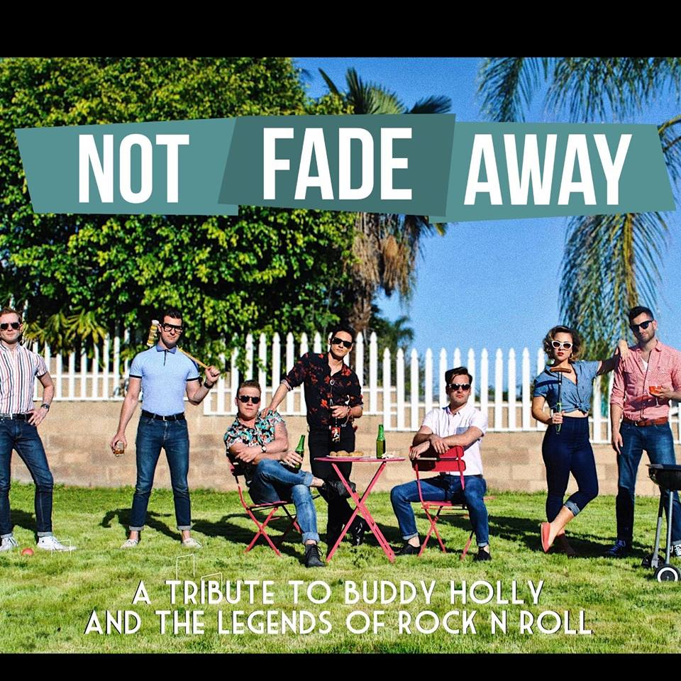 Not Fade Away Band Photo