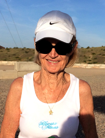 Beverly Martin, August 2017 Walker of the Month