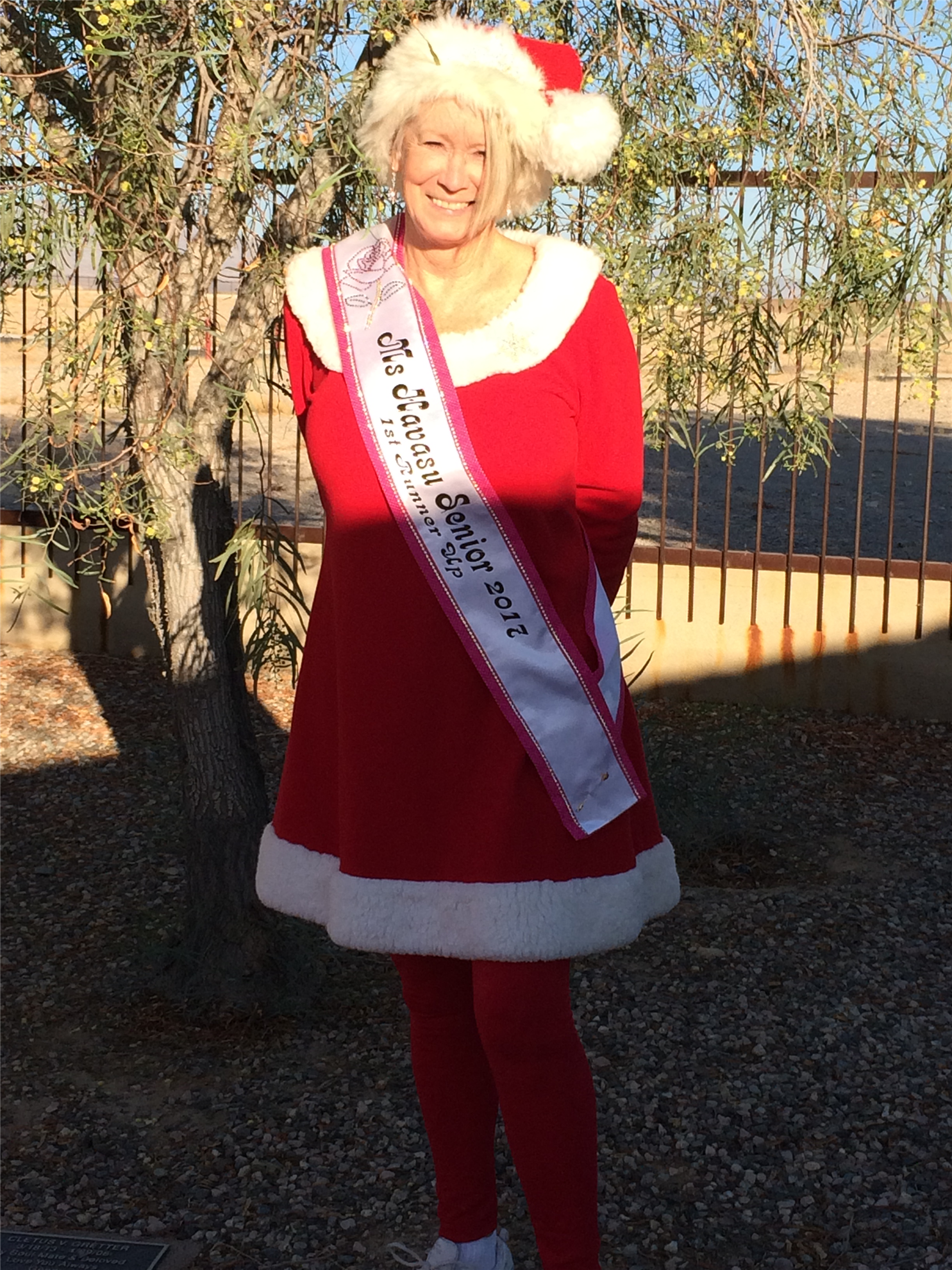 Ms Havasu Senior at 2017 walk