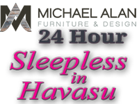 Michael Alan Sleepless in Havasu Logo