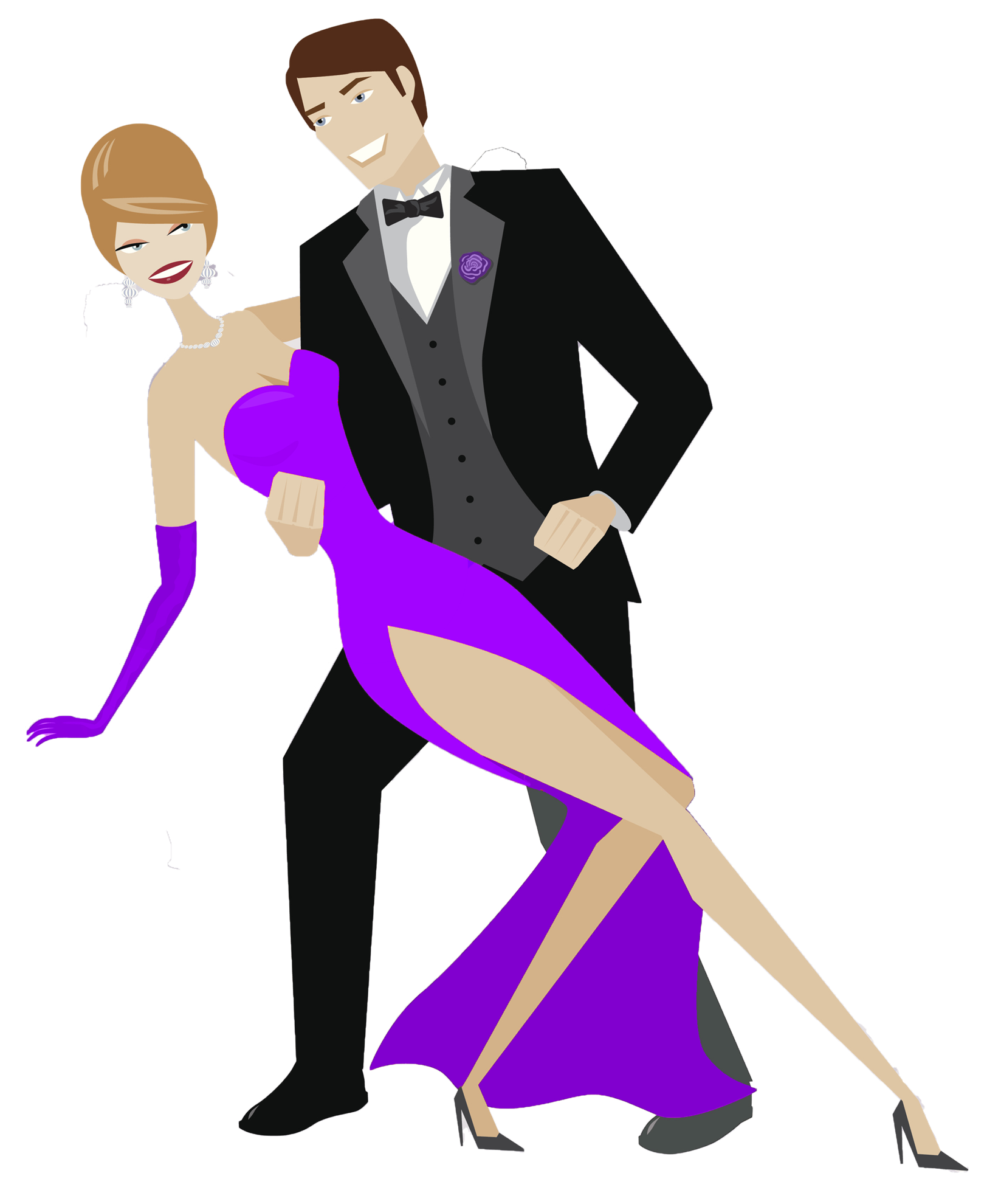 Cancer Ball -- Dancing Couple