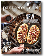 pampered chef catalog cover
