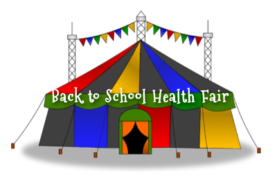Back to School Health Fair Carnival Tent