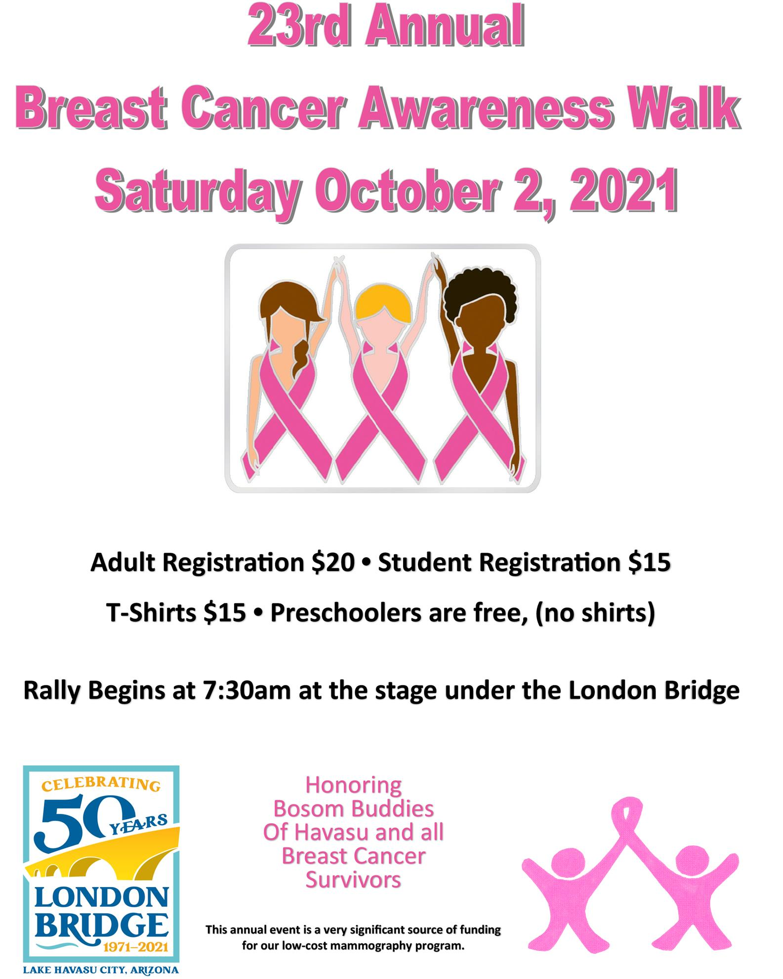 2019 Breast Cancer Awareness Walk