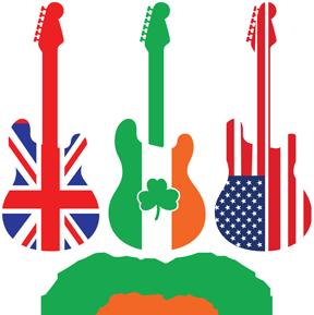 PaddyFest Havasu Guitar logo