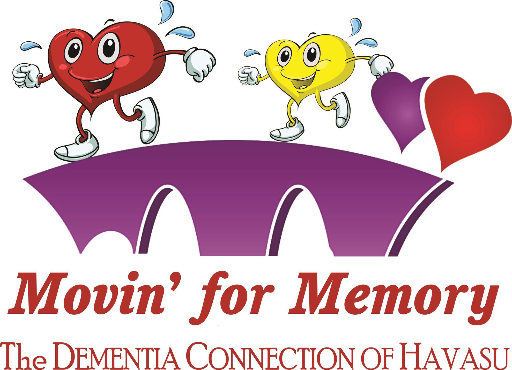 Movin' for Memory Walk logo
