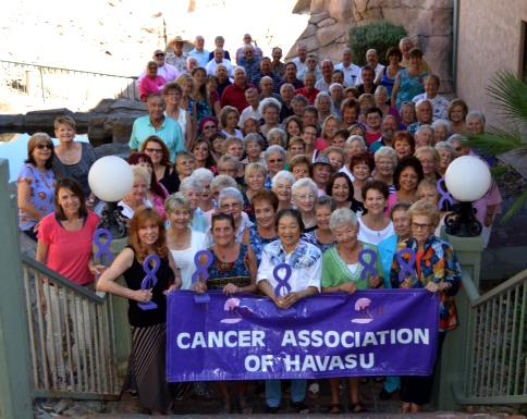 Cancer Survivors Group Photo 2015