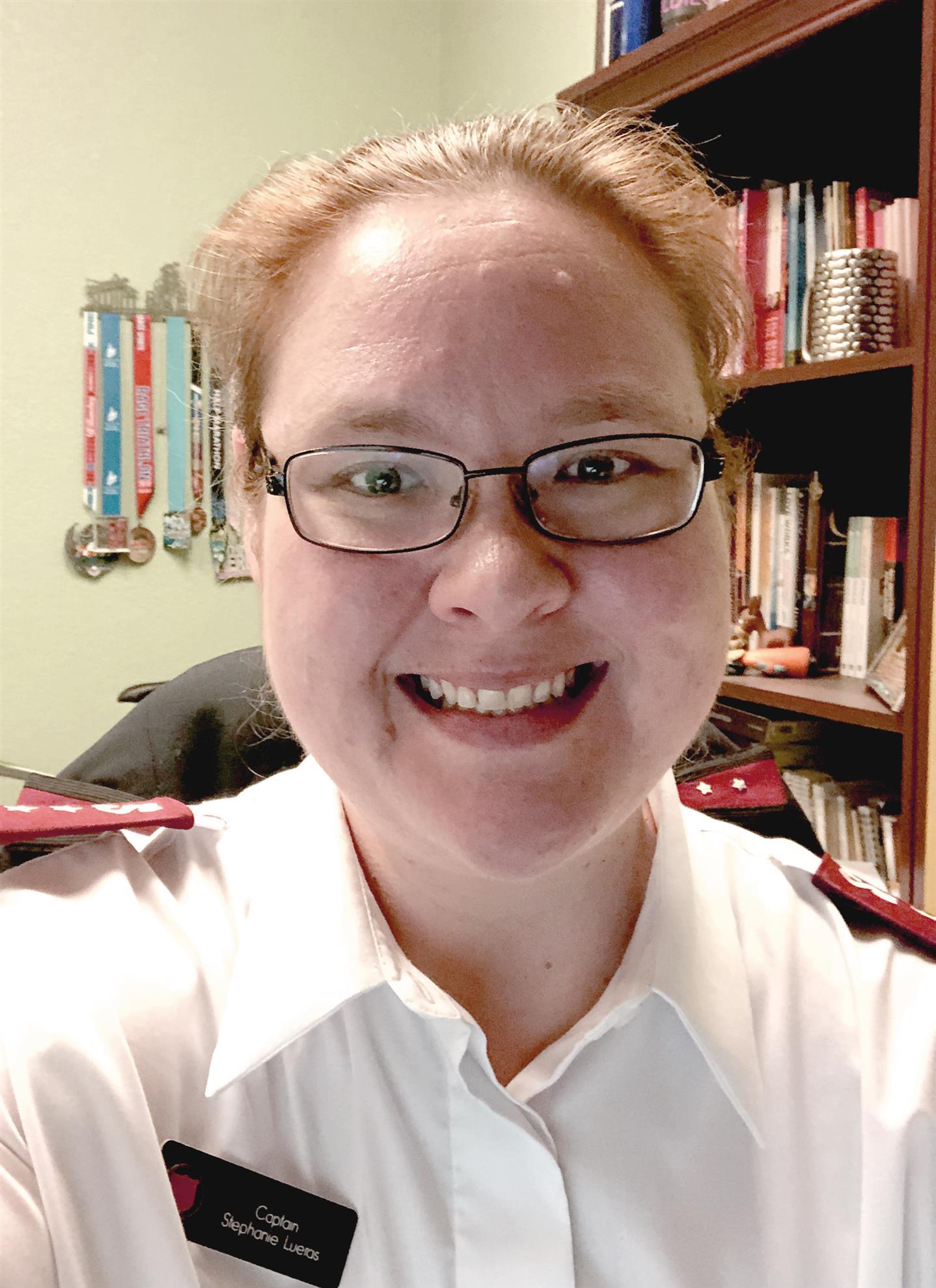 Captain Stephanie Lueras