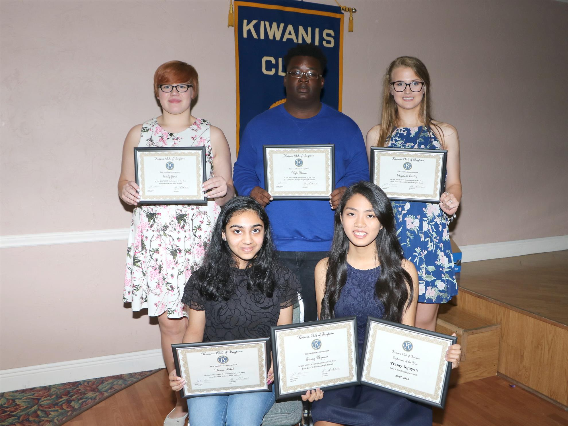 Examples Of Essays For High School Winners Of The Annual Texasoklahoma Sophomore Of The Year Essay Contest  From Local High Schools Were Recognized Recently At The Kiwanis Club Of  Baytowns  English Composition Essay Examples also Research Paper Essay Examples Stories  Kiwanis Club Of Baytown Thesis Statement Example For Essays