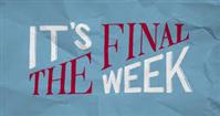 final week