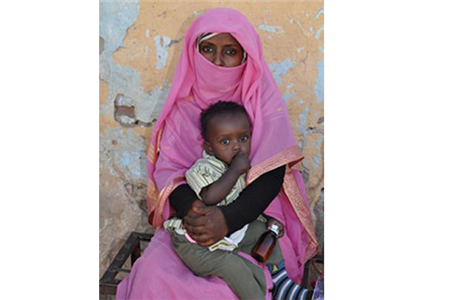 Polio Vaccination Clinic in Kassala, Sudan