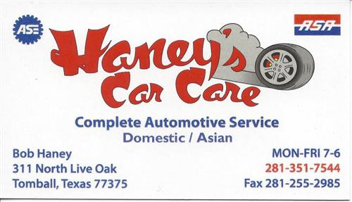 Haney's Car Care