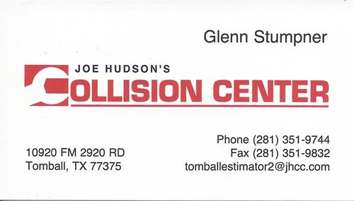 Joe Hudson's Collision Center