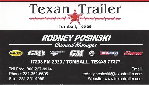 Texan Trailer Sales