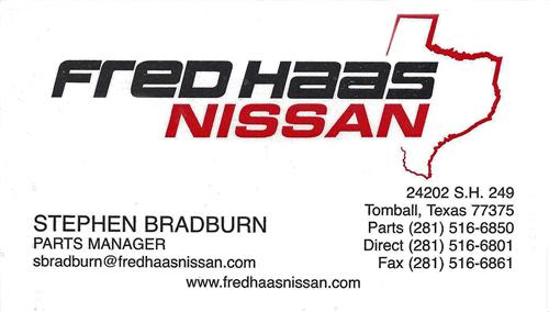Fred Haas Nissan