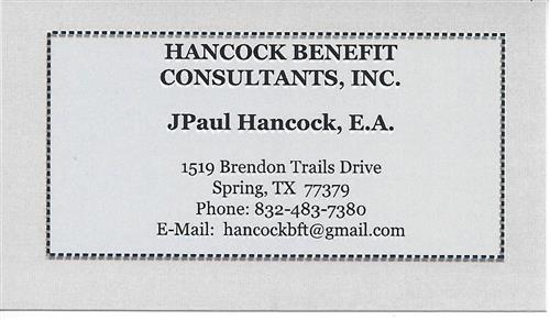 Hancock Benefits Consultants Inc.