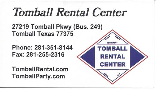 Tomball Rental Center
