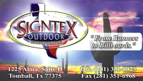 Signtex Outdoor Inc.