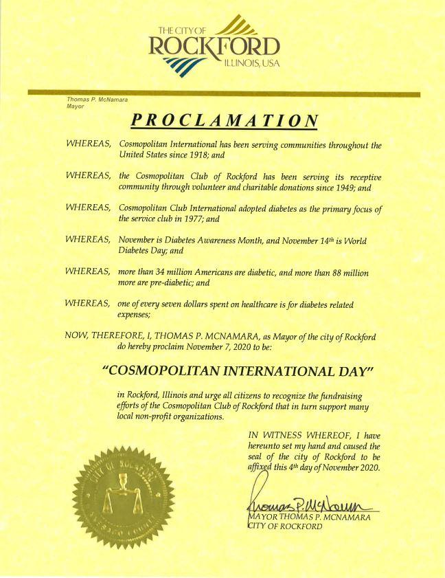 Cosmopolitan International Day