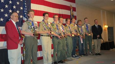 2018 EAGLE SCOUT AWARDS